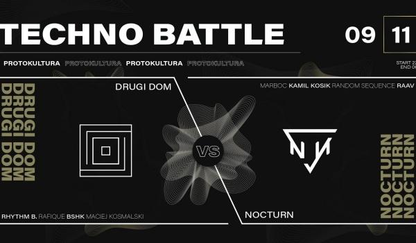 Going. | Techno Battle: Drugi Dom vs Nocturn - Protokultura - Klub Sztuki Alternatywnej