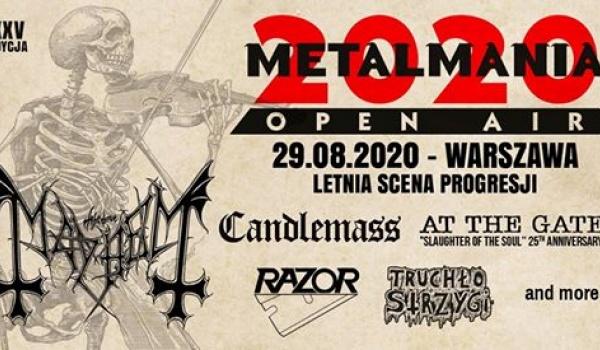Going. | Metalmania Open Air 2020 | Warszawa - Progresja