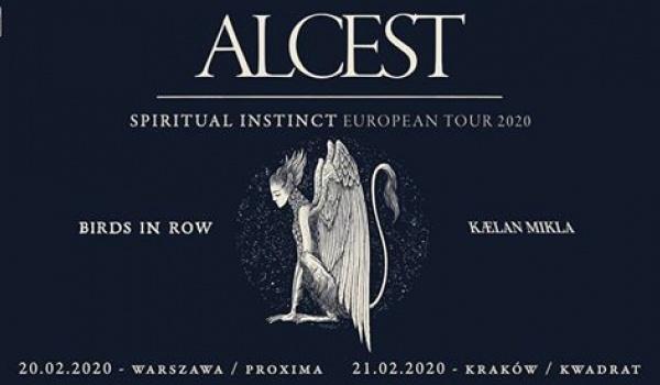 Going. | Alcest + Birds In Row | Warszawa - Proxima