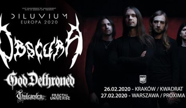 Going. | Obscura + God Dethroned | Kraków - Klub Kwadrat