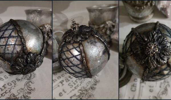 Going. | Lustro w patynie - warsztaty z bombką w stylu retro - DecoKreacje Home&Decor - Sklep