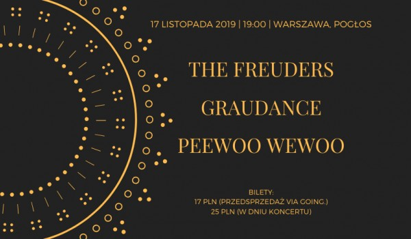 Going.   The Freuders & Graudance & PeeWoo WeWoo - Pogłos