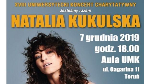 Going. | XVIII Uniwersytecki Koncert Charytatywny - Natalia Kukulska - Aula UMK