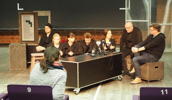Going. | Zakulisowe sprawy - Teatr im. H. Ch. Andersena w Lublinie
