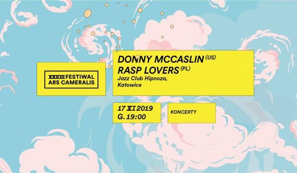 Going. | DONNY McCASLIN w Hipnozie / Festiwal Ars Cameralis - Jazz Club Hipnoza