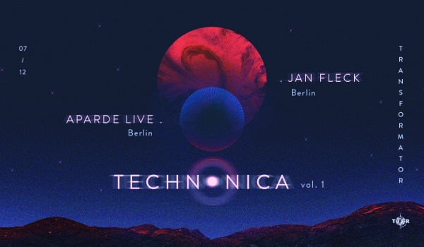 Going. | Aparde LIVE & Jan Fleck - Technonica vol. 1 - Transformator