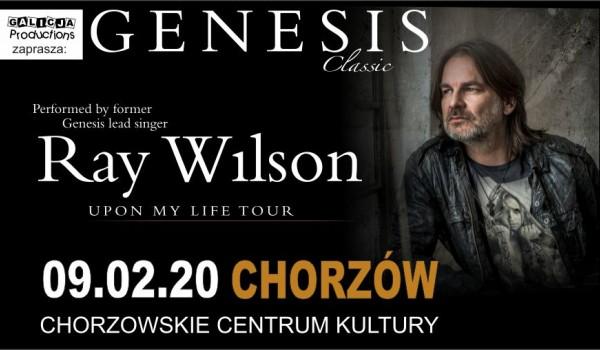 Going. | Ray Wilson – GENESIS Classic - Chorzowskie Centrum Kultury