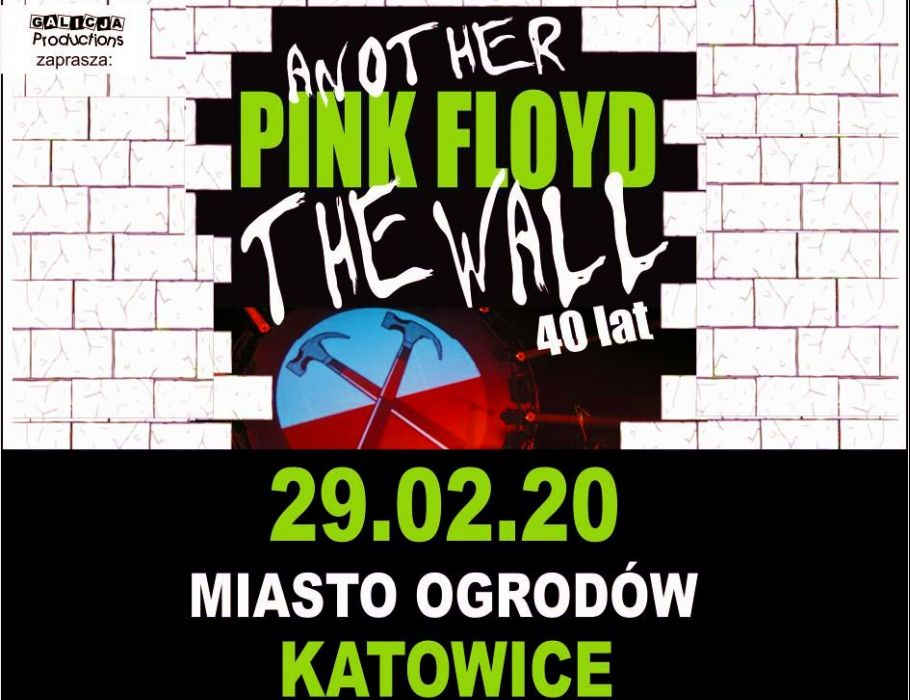 Another Pink Floyd – 40 LAT THE WALL PINK FLOYD