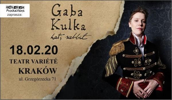 Going. | Gaba Kulka - 10 lat Hat, Rabbit - Krakowski Teatr VARIETE