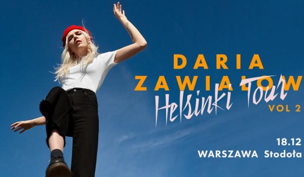 Going. | Daria Zawiałow - Klub Stodoła