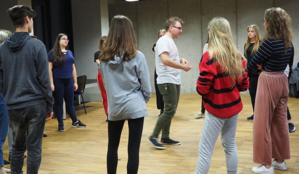Going. | Warsztaty aktorskie dla młodzieży - Teatr im. H. Ch. Andersena w Lublinie
