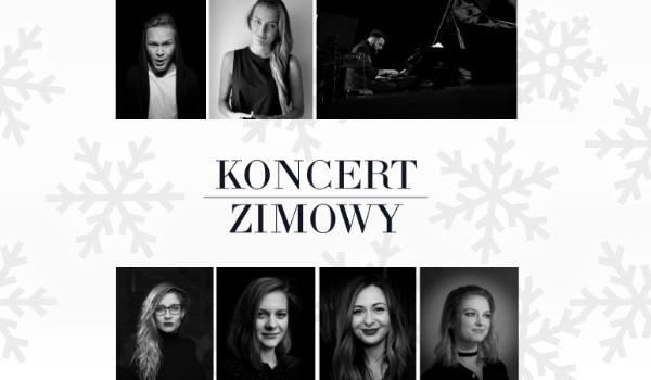 Koncert Zimowy - Kuba Jurzyk / Paulina Grochowska / Jan Jarecki / Golden Gate String Quartet