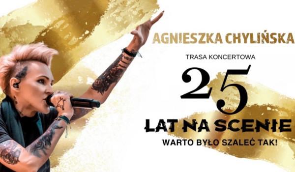 Agnieszka Chylińska 25 lat na scenie | Warszawa