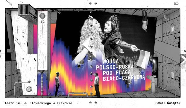 Going.   Boska Komedia   spektakle Teatru im. Juliusza Słowackiego - Teatr im. Juliusza Słowackiego w Krakowie - Duża Scena
