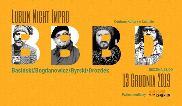 Going. | Lublin night impro - Centrum Kultury w Lublinie