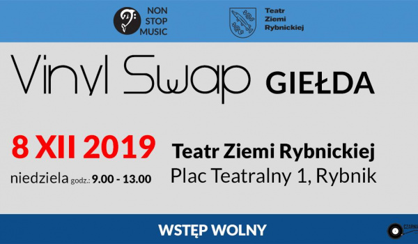 Going. | 53. Vinyl Swap - Teatr Ziemi Rybnickiej