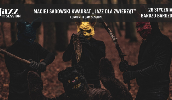 Going. | Jazz Session #77 | Maciej Sadowski Kwadrat 'Jazz dla Zwierząt' - BARdzo bardzo