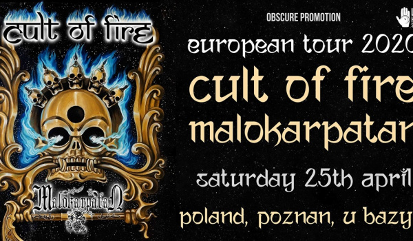 Going. | Cult of Fire, Malokarpatan | Poznan - Klub u Bazyla