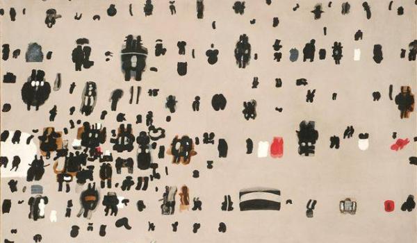 Going. | Na Spektakl przez Deszcz – język obrazów Jana Tarasina - Pawilon Czterech Kopuł