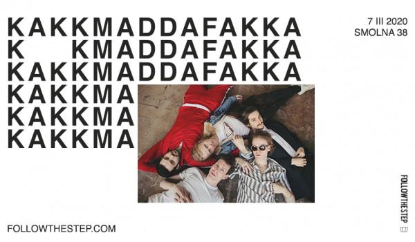 Going. | [ZMIANA MIEJSCA] Kakkmaddafakka - Pogłos