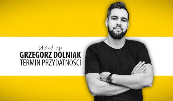 Going. | Grzegorz Dolniak stand-up - Termin przydatności - Klub Kwadrat
