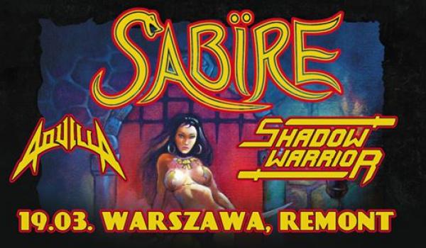 Going. | Sabire + Shadow Warrior, Aquilla | Warszawa - Remont: Reaktywacja Legendy