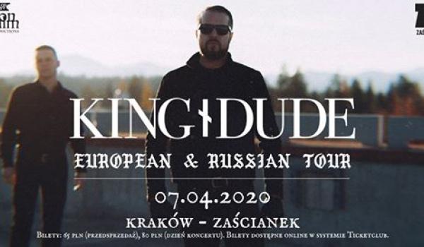 Going. | King Dude | Kraków - Klub Zaścianek