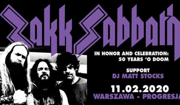 Going. | Zakk Sabbath | Warszawa - Progresja