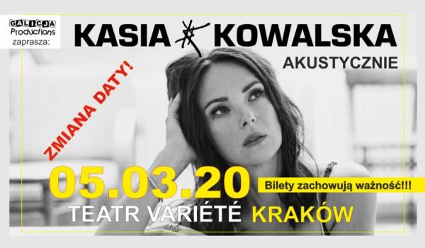 Going. | Kasia Kowalska Akustycznie [ZMIANA DATY] - Krakowski Teatr VARIETE