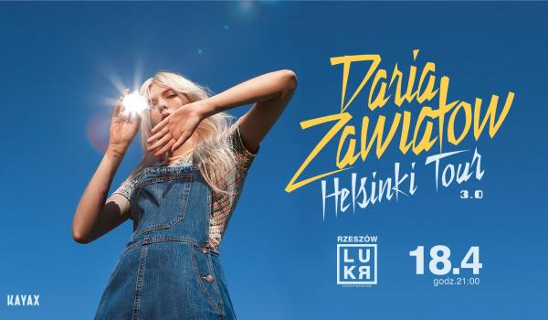 Going. | Daria Zawiałow - Helsinki Tour 3.0 - LUKR