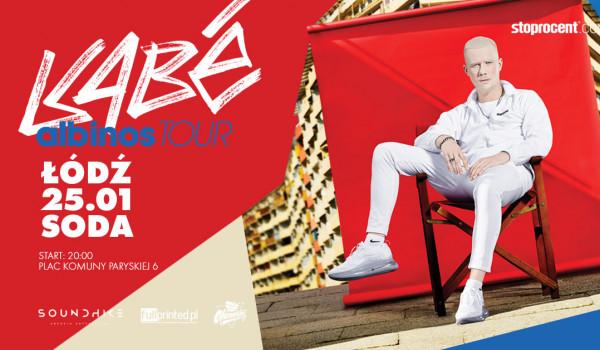 Going. | KABE w Łodzi ! / Albinos Tour / 25.01.2020 - SODA Underground Stage
