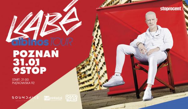 Going. | KABE w Poznaniu! / Albinos Tour / 31.01.2020 - 9stóp Akademickie Centrum Kultury i Sportu
