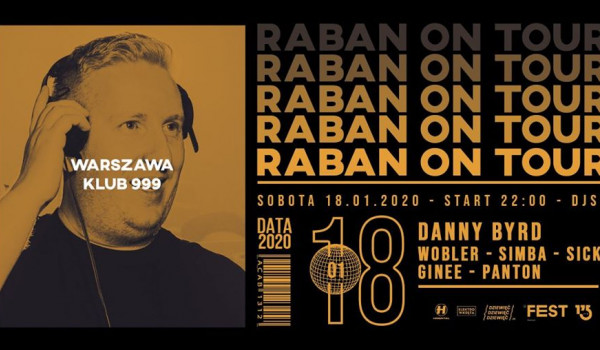 Going. | Raban On Tour: Danny Byrd - 999