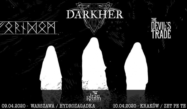 Going. | Darkher, Forndom, The Devil's Trade | Warszawa - Hydrozagadka