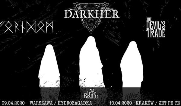 Going. | Darkher, Forndom, The Devil's Trade | Warszawa - Hydrozagadka