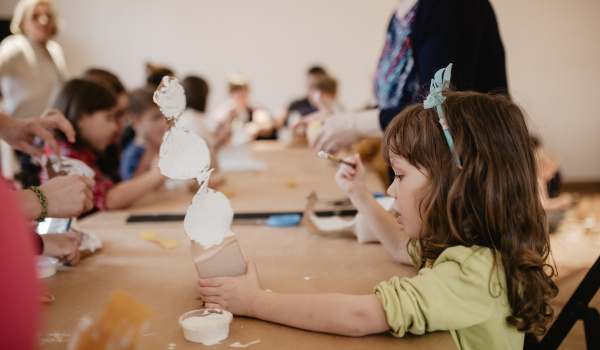 Going. | Jak smakuje sztuka? Dla rodzin z dziećmi 5–10 lat - CSW Zamek Ujazdowski