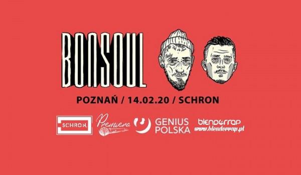 Going. | Bonson x Soulpete - BonSoul w Poznaniu // Schron - Schron