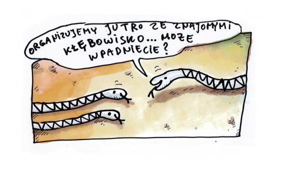 Going. | Raczkowski rysuje, Duda gra... czyli KWARTET RYSUNKOWO - MUZYCZNY - Klub SPATiF