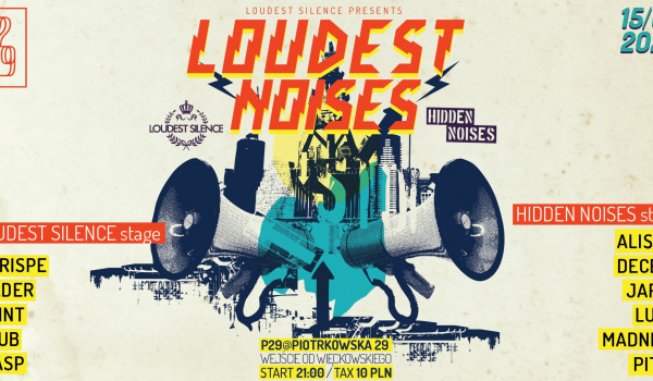 Going. | Loudest Noises at P29 // Loudest Silence is back! - P29