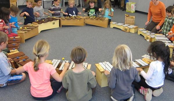 Going.   Warsztaty muzyczne dla dzieci: Instrumentarium Carla Orffa - Filharmonia Lubelska