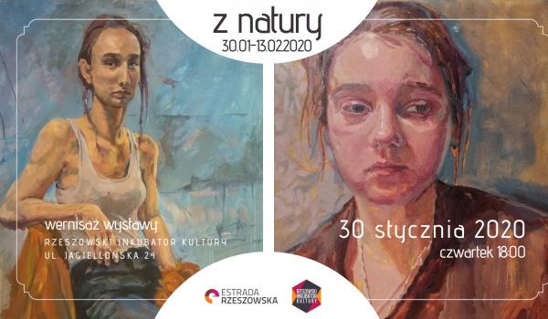 Going. | Z natury | Wystawa malarstwa Eniko Szucsan & Justyna Michalik - Estrada Rzeszowska