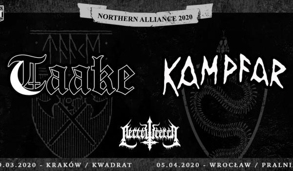 Going. | Taake, Kampfar + Necrowretch | Kraków - Klub Kwadrat