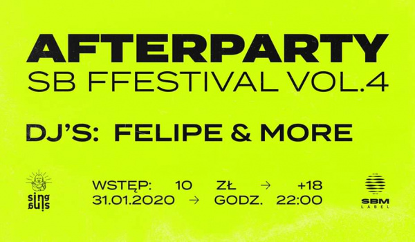 Going. | SB FFestival vol. 4 | Afterparty - Sing Sing