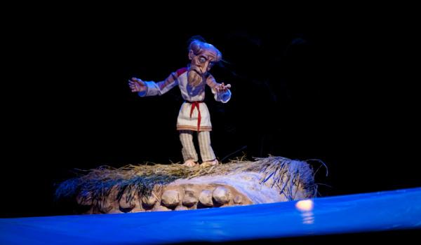 Going. | O rybaku i złotej rybce - Teatr Guliwer