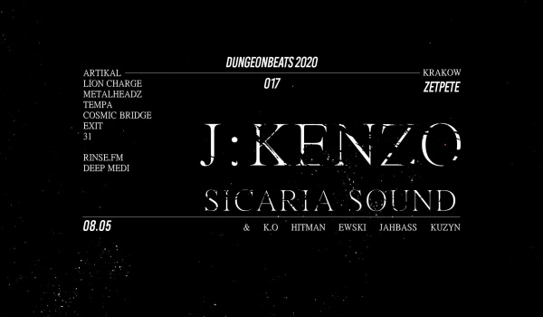 Going. | Dungeon Beats 017 feat. J:Kenzo & Sicaria Sound [UK] - Zet Pe Te