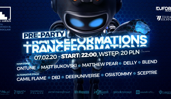 Going. | Pre-Party Tranceformations 2020 - D.K. Luksus