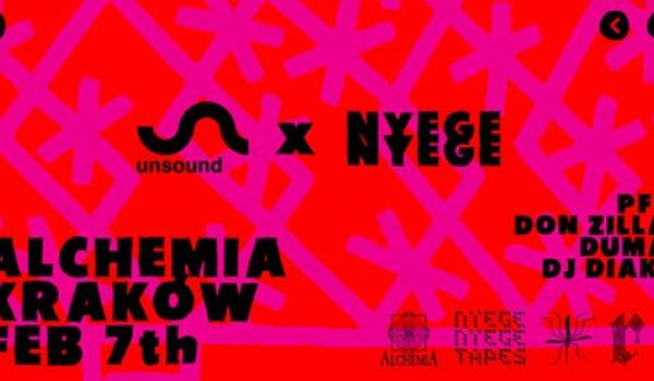 Going. | Unsound x Nyege Nyege: Kraków - Klub Alchemia