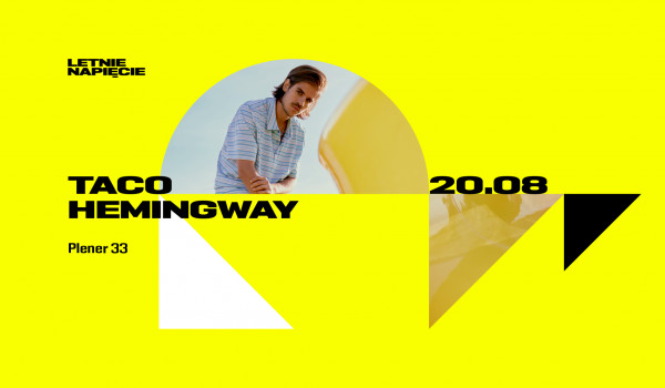 Going. | Letnie Napięcie: Taco Hemingway - Plener 33 Stocznia Gdańsk