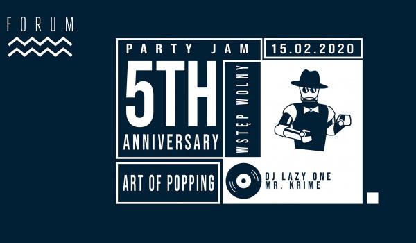 Going. | Art of Popping 5th Anniversary Jam - Forum Przestrzenie