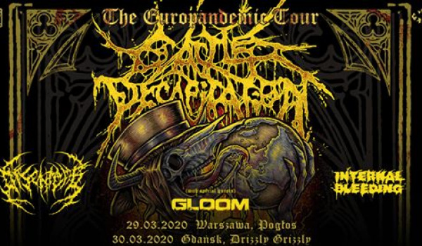 Going. | Cattle Decapitation | Gdańsk - Drizzly Grizzly